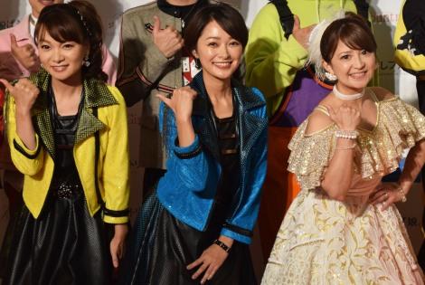 (左から)保田圭、市井紗耶香、矢口真里 (C)ORICON NewS inc.