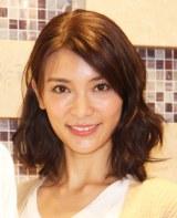 ミュージカル『ゴースト』初日前会見に出席した秋元才加 (C)ORICON NewS inc.