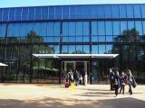 ピクサーの設立メンバーで会長であった故スティーブ・ジョブズ氏を追悼して命名された「The Steave Jobs Building」 (C)ORICON NewS inc.