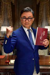 最新作『記憶にございません!』の制作が決まった三谷幸喜監督 (C)2019フジテレビ 東宝