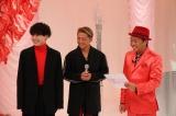 dTVのオリジナルバラエティー『トゥルルさまぁ〜ず』(第582話)(左から)ゲストのDa-iCE(工藤大輝、大野雄大)と三村マサカズ(C)BeeTV