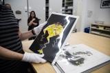 ピクサー・アニメーション・スタジオのアーカイブ施設に保管されているアートワーク(『モンスターズ・インク』)(C)KaoriSuzuki