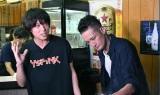 6日放送のTBS系バラエティー『ペコジャニ∞!』に出演する丸山隆平、松岡昌宏 (C)TBS