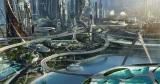 ディズニーランドのテーマパークの1つとして知られている[トゥモローランド]が現実となって存在しているような感覚になる映画『トゥモローランド』場面写真(C) 2015 Disney Enterprise,inc. All Rights Reserved.