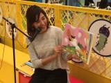 日本テレビ毎夏恒例イベント『超☆汐留パラダイス!』で行われた絵本読み聞かせ会を開催した杉上佐智枝アナ (C)日本テレビ