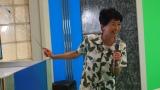 日本テレビ毎夏恒例イベント『超☆汐留パラダイス!』で行われたアナウンサー体験ブースに登場する豊田順子アナウンサー(C)日本テレビ
