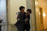 8月7日放送、NHK総合『LIFE!〜人生に捧げるコント〜』中川大志&ムロツヨシの胸キュンコント「大臣、あなたをお守りします。」より(C)NHK