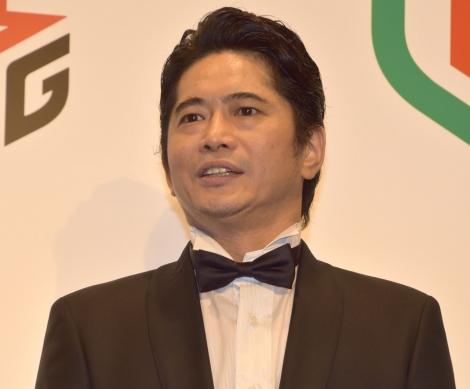 プロ麻雀リーグ「Mリーグ」のドラフト会議で1位指名を受けた萩原聖人 (C)ORICON NewS inc.
