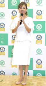 『大昭和紙工×高橋真麻 ギネス世界記録Wチャレンジ』イベントに出席した高橋真麻 (C)ORICON NewS inc.