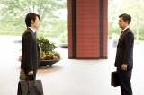 名場面・その2。第3話のラスト、忘れられない芝野(渡部篤郎)の表情と鷲津の孤独を感じさせたシーン (C)テレビ朝日
