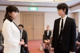 その3。第2話ゲストのかたせ梨乃演じる中森瑞恵が見せた経営者とは別の顔 (C)テレビ朝日