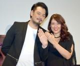 夫婦初の2ショット(左から)小田井涼平、LiLiCo (C)ORICON NewS inc.