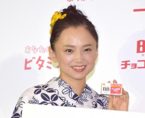 『「チョコラBB」ビタミンB2啓発・夏祭りPRイベント』に参加した永作博美 (C)ORICON NewS inc.
