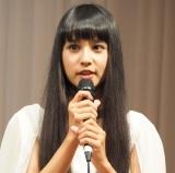 『仮面ライダージオウ』の制作発表会見に出席した大幡しえり (C)ORICON NewS inc.