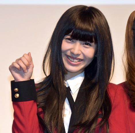 ドラマ『賭ケグルイ』Blu-ray&DVD発売記念イベントに出席した浜辺美波 (C)ORICON NewS inc.