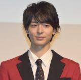 ドラマ『賭ケグルイ』Blu-ray&DVD発売記念イベントに出席した高杉真宙 (C)ORICON NewS inc.