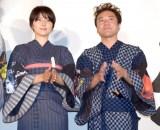 映画『銀魂2 掟は破るためにこそある』(17日公開)の完成披露舞台あいさつの模様 (C)ORICON NewS inc.