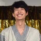 映画『銀魂2 掟は破るためにこそある』(17日公開)の完成披露舞台あいさつに出席した岡田将生 (C)ORICON NewS inc.