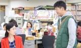 担当編集者の井澤奈緒(壇蜜)に企画書を提出するも「ボツ!」と言われ、あきらめきれない翔平(駿河太郎)は、奈緒が納得するようなネタを探そうと取材を始める(C)NHK