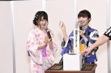 「武藤シスターズ」はノーシード(左から)妹・武藤小麟、姉・武藤十夢(C)AKS