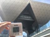 暑さはピークとなり、会場外の気温は39℃越えに (C)oricon ME inc.