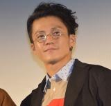 dTVドラマ『銀魂2 -世にも奇妙な銀魂ちゃん-』先行上映会に出席した小栗旬 (C)ORICON NewS inc.