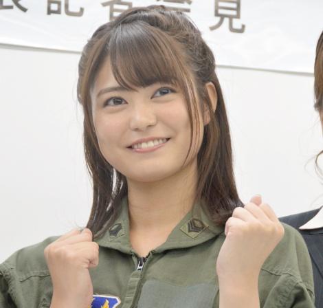 映画『アニメ女子・外伝〜藍の翼・カーレッジ〜』制作発表に出席した前田亜美