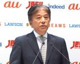 eスポーツ国際親善試合調印式に出席したJeSU岡村秀樹会長 (C)ORICON NewS inc.
