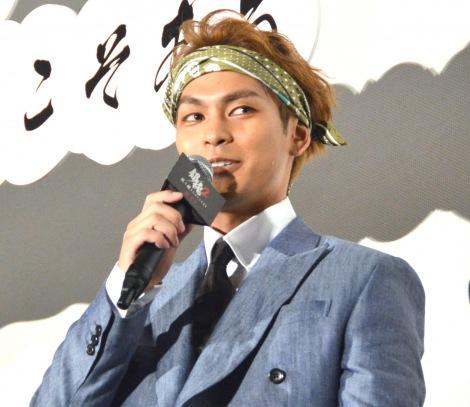 映画『銀魂2 掟は破るためにこそある』初日舞台あいさつに登壇した柳楽優弥 (C)ORICON NewS inc.