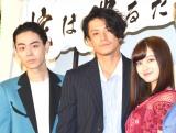 (左から)菅田将暉、小栗旬、橋本環奈 (C)ORICON NewS inc.