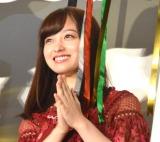 映画『銀魂2 掟は破るためにこそある』初日舞台あいさつに登壇した橋本環奈 (C)ORICON NewS inc.