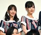 主題歌を担当した乃木坂46(左から)与田祐希、山下美月 (C)ORICON NewS inc.