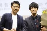 『国際短編映画祭ショートショート フィルムフェスティバル & アジアのトークイベント』に登壇した(左から)別所哲也、森崎ウィン