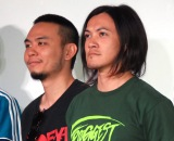 『2018 TAIWAN BEATS』会見に出席したFire EX.(左から)ORio.、JC