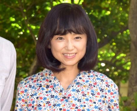 NHK総合のドラマ『みかづき』の取材会に出席した永作博美 (C)ORICON NewS inc.