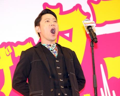 映画『音量を上げろタコ!なに歌ってんのか全然わかんねぇんだよ!!』完成披露試写会舞台あいさつに登壇した阿部サダヲ (C)ORICON NewS inc.