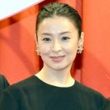 映画『累-かさね-』完成披露試写会に出席した檀れい (C)ORICON NewS inc.