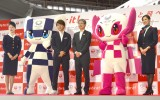 JAL『Fly for it!』東京2020大会に向けた新活動発表の模様 (C)ORICON NewS inc.