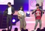 『Seventeen 夏の学園祭2018』「ST Collection 2018」STAGEに登場した(左から)甲斐翔真、下村実生、瀬戸利樹 (C)ORICON NewS inc.