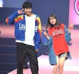 『ミスセブンティーン 2018』に登場した(左から)鈴木仁、マーシュ彩 (C)ORICON NewS inc.
