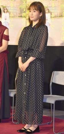 結婚後、初めて公の場に登場した前田敦子 (C)ORICON NewS inc.
