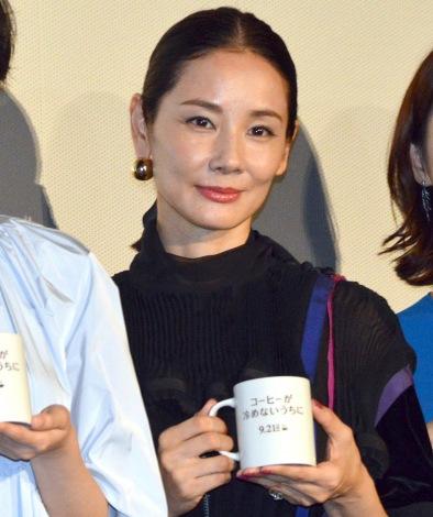 映画『コーヒーが冷めないうちに』完成披露試写会に出席した吉田羊 (C)ORICON NewS inc.