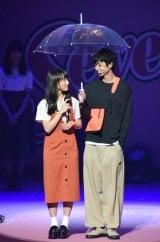 鈴木仁&清原果耶が披露した4位:雨の日に相合い傘=『Seventeen 夏の学園祭2018』 (C)ORICON NewS inc.