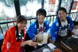 初のエンタメ居酒屋フードイベント『TOKYO KANPAI FESTIVAL』を一足先に体験(C)テレビ朝日