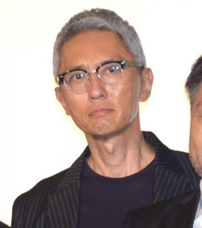 映画『検察側の罪人』の初日舞台あいさつに出席した松重豊 (C)ORICON NewS inc.