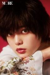 『MORE』10月号に登場する平手友梨奈 撮影/Takanori Okuwaki (C)MORE2018年10月号/集英社