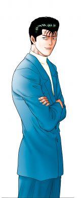 日本テレビ系10月期日曜ドラマ『今日から俺は!!』原作画 太賀演じる今井勝俊(C)西森博之/小学館
