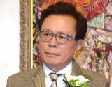 婚約発表パーティーを開催した猪瀬直樹氏 (C)ORICON NewS inc.