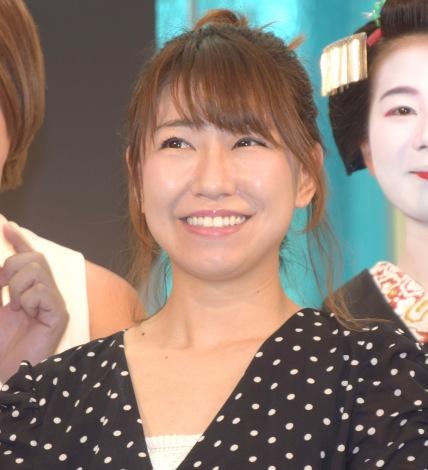 『YouGoEx2018』のキックオフイベントに参加した桜・稲垣早希 (C)ORICON NewS inc.