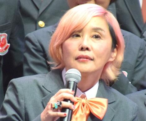 「吉本坂46」のメンバーに選ばれた野沢直子=「吉本坂46」お披露目会 (C)ORICON NewS inc.